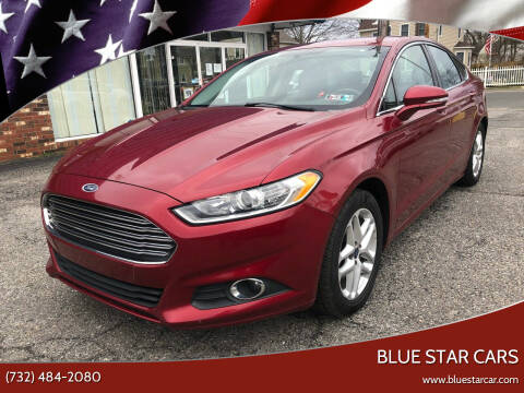 2014 Ford Fusion for sale at Blue Star Cars in Jamesburg NJ