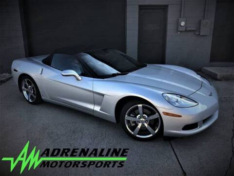 2009 Chevrolet Corvette for sale at Adrenaline Motorsports Inc. in Saginaw MI
