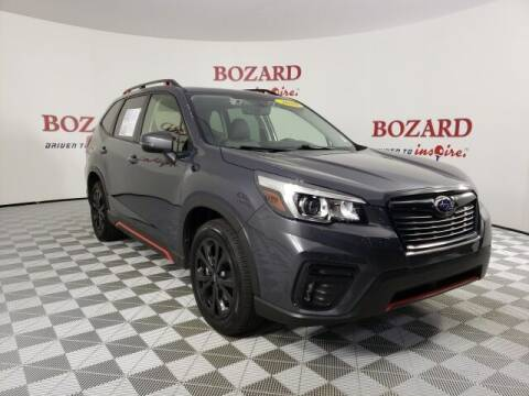 2020 Subaru Forester for sale at BOZARD FORD in Saint Augustine FL