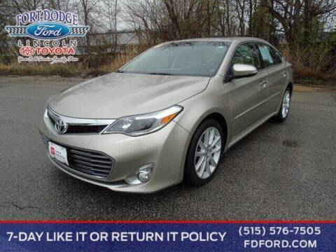 2015 Toyota Avalon for sale at Fort Dodge Ford Lincoln Toyota in Fort Dodge IA
