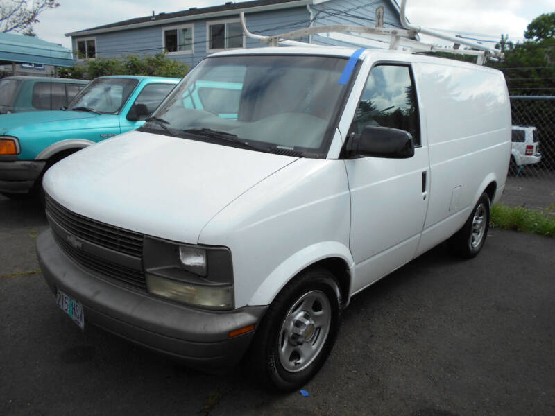 2004 Chevrolet Astro Cargo for sale at Family Auto Network in Portland OR