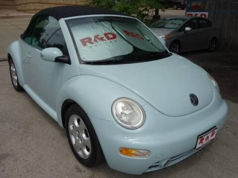 2003 Volkswagen New Beetle Convertible for sale at R & D Motors in Austin TX