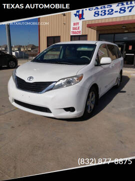 2011 Toyota Sienna for sale at TEXAS AUTOMOBILE in Houston TX