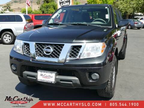 2016 Nissan Frontier for sale at McCarthy Wholesale in San Luis Obispo CA