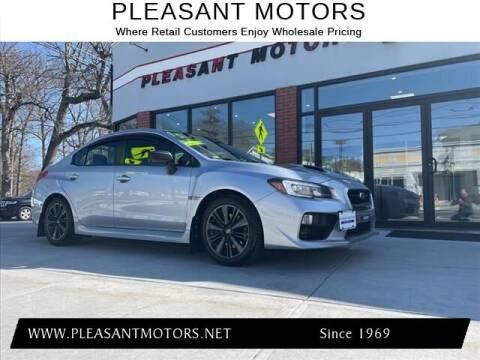 2015 Subaru WRX for sale at Pleasant Motors in New Bedford MA