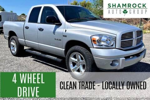 2008 Dodge Ram Pickup 1500 for sale at Shamrock Group LLC #1 in Pleasant Grove UT
