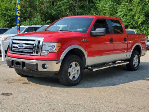 2012 Ford F-150 for sale at FAYAD AUTOMOTIVE GROUP in Pittsburgh PA