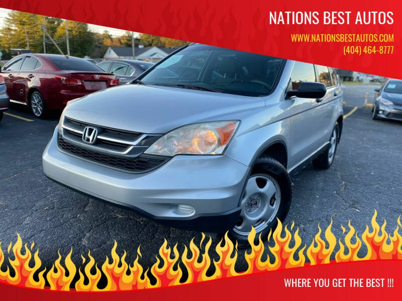 2010 Honda CR-V for sale at Nations Best Autos in Decatur GA