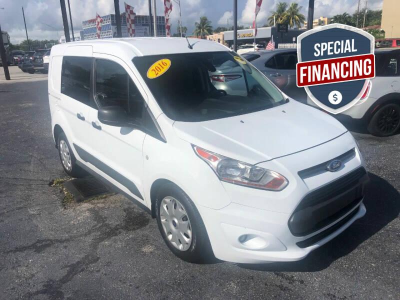 2016 Ford Transit Connect Cargo for sale at MACHADO AUTO SALES in Miami FL