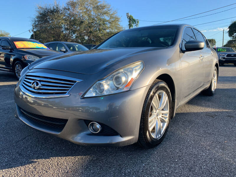 2012 Infiniti G37 Sedan for sale at Bargain Auto Sales in West Palm Beach FL