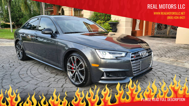 2018 Audi S4 for sale at Real Motors LLC in Clearwater FL