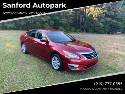 2014 Nissan Altima for sale at Sanford Autopark in Sanford NC