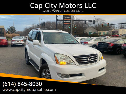 2008 Lexus GX 470 for sale at Cap City Motors LLC in Columbus OH
