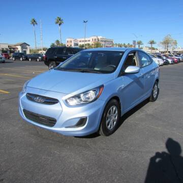 2013 Hyundai Accent for sale at Charlie Cheap Car in Las Vegas NV