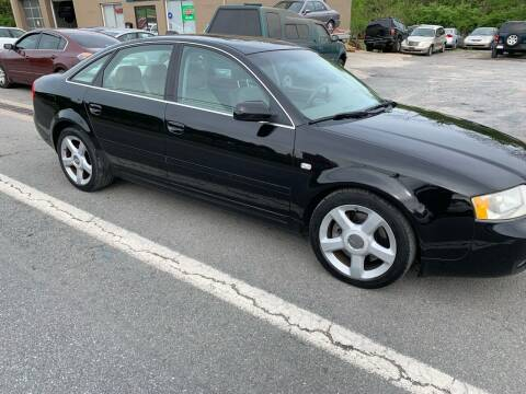 2004 Audi A6 for sale at GET N GO USED AUTO & REPAIR LLC in Martinsburg WV