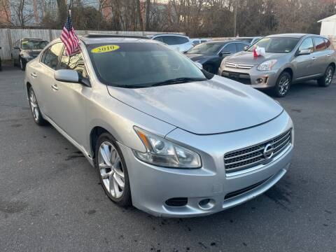2010 Nissan Maxima for sale at Auto Revolution in Charlotte NC