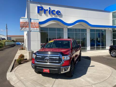 2017 Toyota Tundra for sale at Price Honda in McMinnville in Mcminnville OR