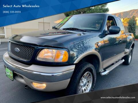 2003 Ford F-150 for sale at Select Auto Wholesales in Glendora CA