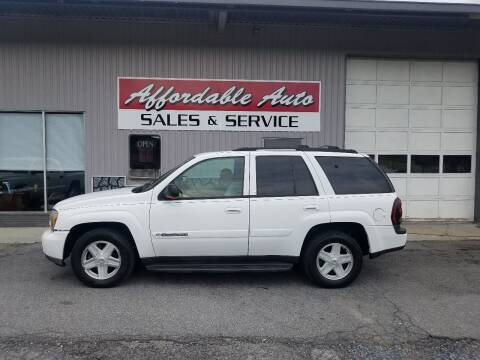 2002 Chevrolet TrailBlazer for sale at Affordable Auto Sales & Service in Berkeley Springs WV