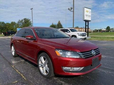 2015 Volkswagen Passat for sale at Dunn Chevrolet in Oregon OH