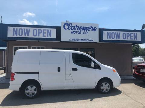 2017 Nissan NV200 for sale at Claremore Motor Company in Claremore OK