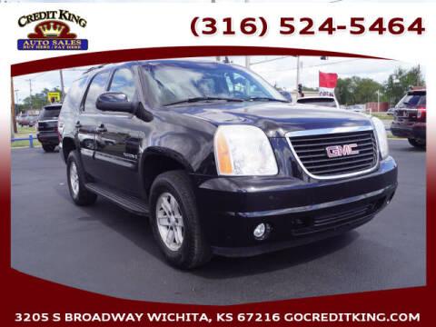 2007 GMC Yukon for sale at Credit King Auto Sales in Wichita KS