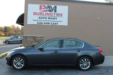 2008 Infiniti G35 for sale at Burlington Auto Mart in Burlington NC