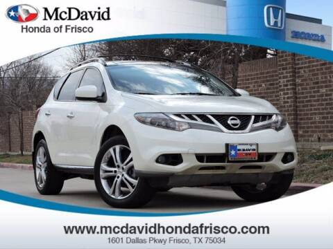 2011 Nissan Murano for sale at DAVID McDAVID HONDA OF IRVING in Irving TX