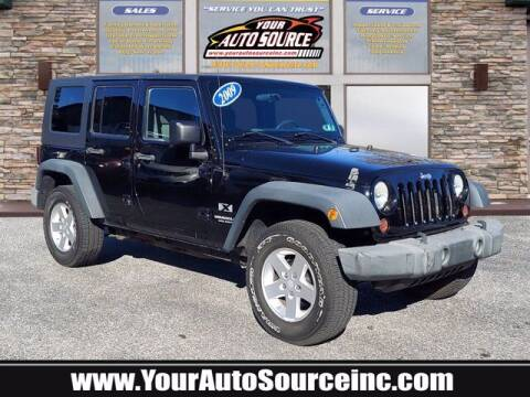 2009 Jeep Wrangler Unlimited for sale at Your Auto Source in York PA