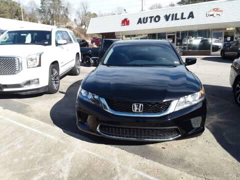 2014 Honda Accord for sale at Auto Villa in Danville VA