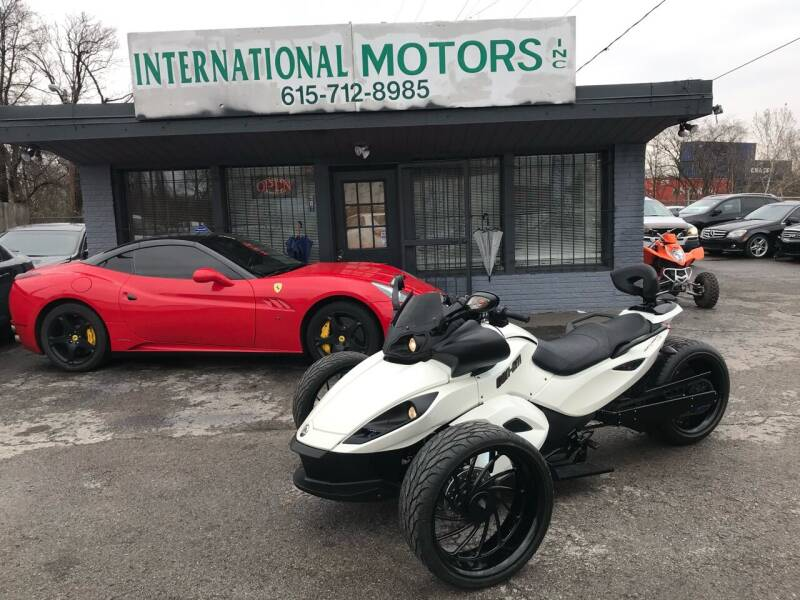 2010 Can-Am Spyder for sale at International Motors Inc. in Nashville TN