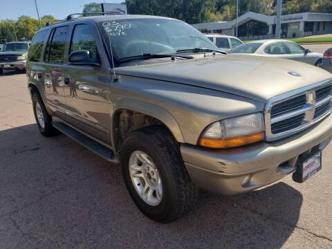 2003 Dodge Durango for sale at Gordon Auto Sales LLC in Sioux City IA