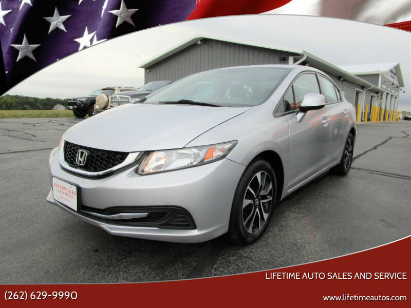2013 Honda Civic for sale at Lifetime Auto Sales and Service in West Bend WI