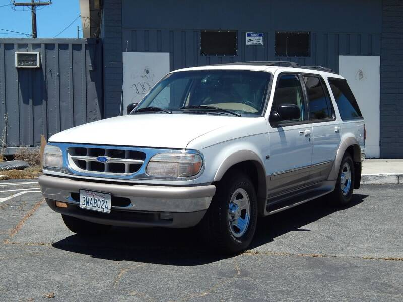 1997 Ford Explorer for sale at Gilroy Motorsports in Gilroy CA
