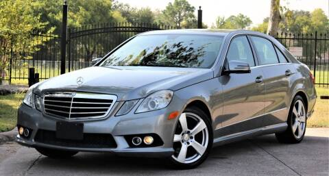 2010 Mercedes-Benz E-Class for sale at Texas Auto Corporation in Houston TX