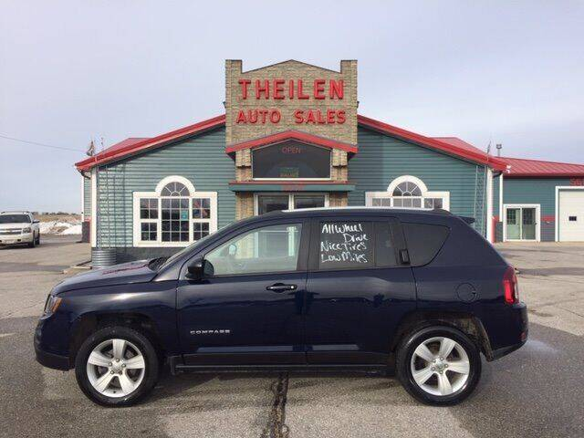 2017 Jeep Compass for sale at THEILEN AUTO SALES in Clear Lake IA