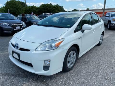 2010 Toyota Prius for sale at VENTURE MOTOR SPORTS in Virginia Beach VA