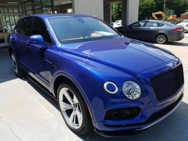 2018 Bentley Bentayga for sale in Cadillac, MI