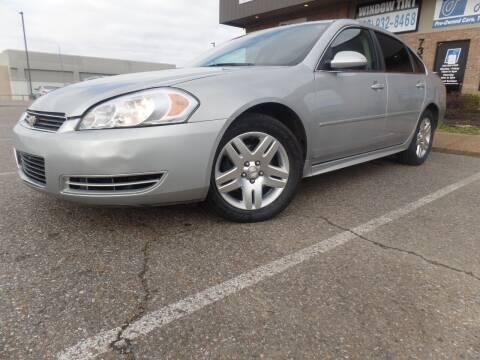 2011 Chevrolet Impala for sale at Flywheel Motors, llc. in Olive Branch MS