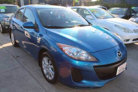 2012 Mazda MAZDA3 for sale at FJ Auto Sales in North Hollywood CA