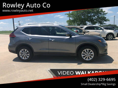 2019 Nissan Rogue for sale at Rowley Auto Co in Pierce NE