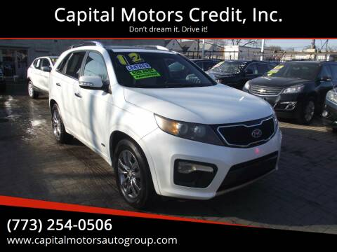 2012 Kia Sorento for sale at Capital Motors Credit, Inc. in Chicago IL
