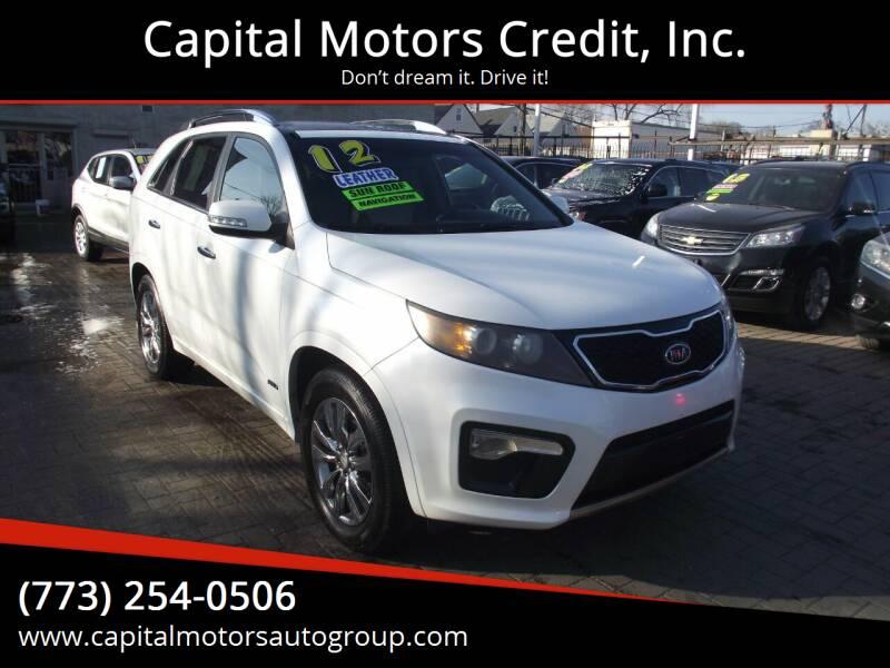 2012 Kia Sorento for sale at Capital Motors Credit, Inc. in Chicago IL