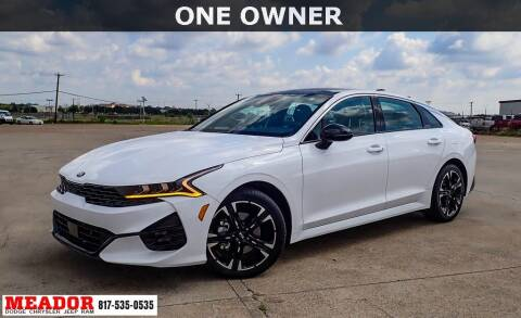 2021 Kia K5 for sale at Meador Dodge Chrysler Jeep RAM in Fort Worth TX