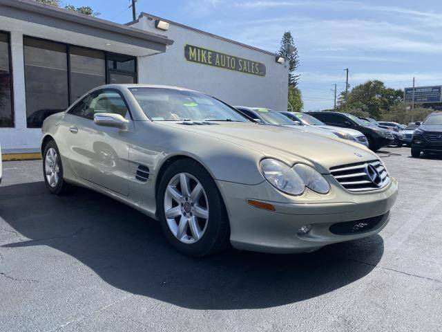 2004 Mercedes-Benz SL-Class for sale at Mike Auto Sales in West Palm Beach FL