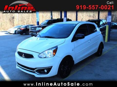 2019 Mitsubishi Mirage for sale at Inline Auto Sales in Fuquay Varina NC