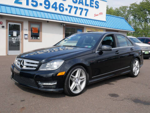 2013 Mercedes-Benz C-Class for sale at B & D Auto Sales Inc. in Fairless Hills PA