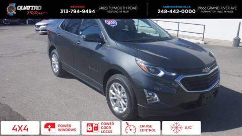 2020 Chevrolet Equinox for sale at Quattro Motors 2 - 1 in Redford MI