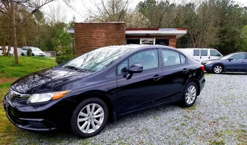 2012 Honda Civic for sale at Progress Auto Sales in Durham NC