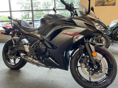 2022 Kawasaki Ninja 650R for sale at ROUTE 3A MOTORS INC in North Chelmsford MA